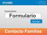 Formulario de Contacto Familias