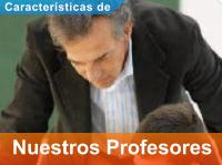 Característica de Nuestros Profesores Particulares