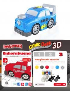 coches_imaginierrr  Con Imaginieer (pequeño editor 3d para los pequeños de la franquicia Imaginarium) los niños pueden personalizar el aspecto de un coche de juguete